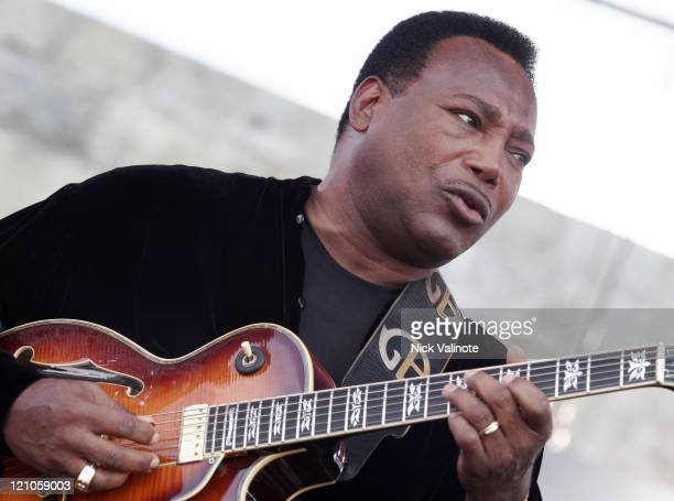 George Benson during JVC Newport Jazz Festival 2006 at Fort Adams State Park in Newport RI United States