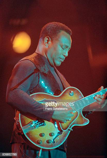 George Benson, guitar and vocals, performs on July 16th 2000 at the North Sea Jazz Festival in the Hague, Netherlands.