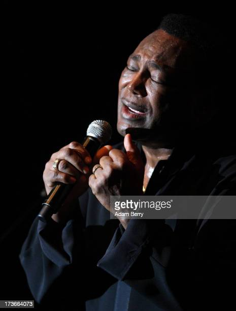 George Benson performs at Admiralspalast on July 16 2013 in Berlin Germany