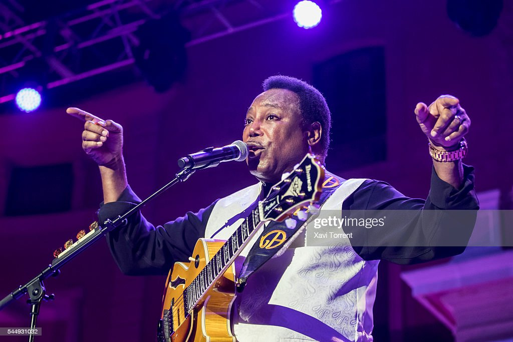 George Benson Performs in Concert in Barcelona