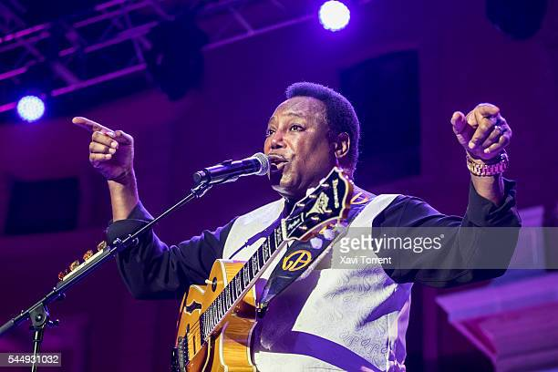 George Benson performs in concert during Festival Jardins de Pedralbes on July 4 2016 in Barcelona Spain
