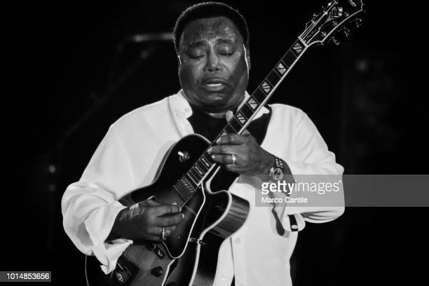 George Benson performs live at Arena Flegrea in Naples
