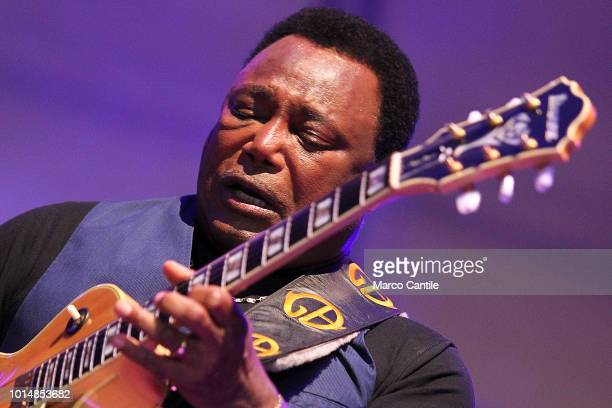 George Benson performs live at Pomigliano Jazz Festival