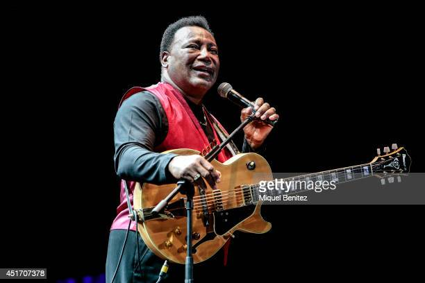 George Benson performs on stage during the second 'Festival Jardins de Pedralbes' on July 4 2014 in Barcelona Spain