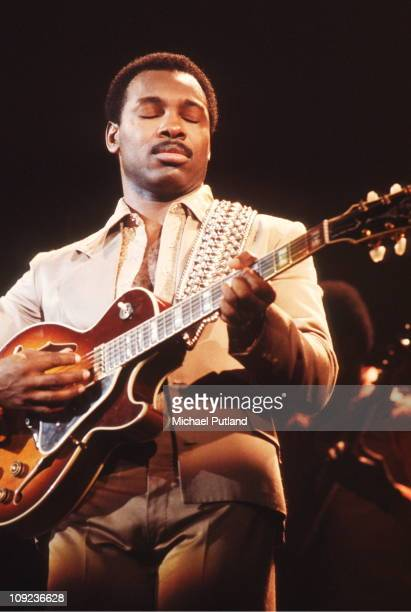 George Benson performs on stage New York 1978