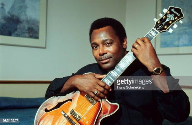 George Benson posed at the North Sea Jazz Festival in The Hague Netherlands on July 14 2001