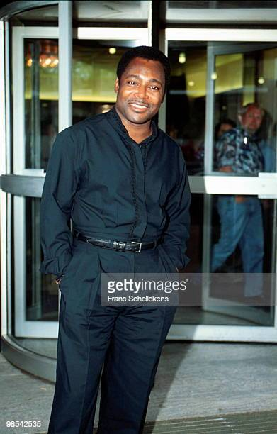 George Benson posed at the North Sea Jazz Festival in The Hague, Netherlands on July 14 2001