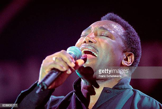 George Benson, singer and guitarist, performs on July 14th 2001 at the North Sea Jazz Festival, the Hague, Netherlands.