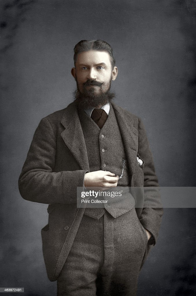 George Bernard Shaw, Irish dramatist, critic and Fabian, 1893.Artist: W&D Downey : News Photo