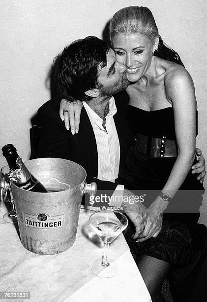 George Best and ex-wife Angie 1980