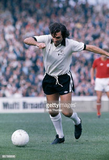 George Best in action for Fulham at Craven Cottage March 1977