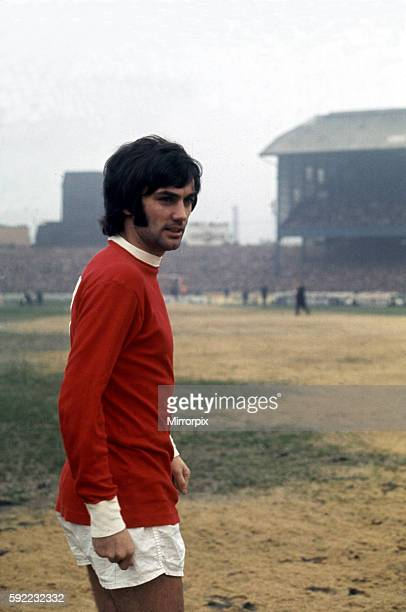 George Best Manchester United Football PLayer Circa 1969.