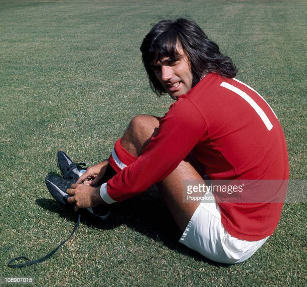 George Best of Manchester United at Old Trafford Manchester in August 1970