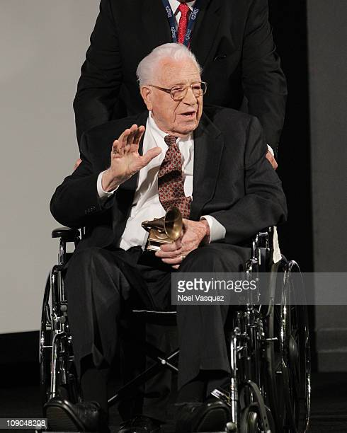 George Beverly Shea attends the Recording Academy hosted Special Merit Awards Ceremony at The Wilshire Ebell Theatre on February 12 2011 in Los...