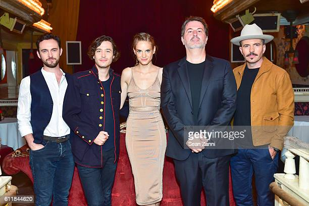 George Blagden Alexander Vlahos Noemie Schmidt David Wolstencroft and Tygh Runyan attend Ovation TV Celebrates the October 1st Premiere of the...