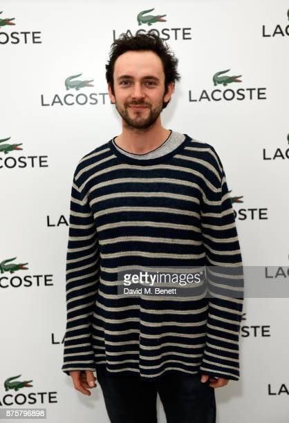 George Blagden attends Lacoste VIP Lounge during 2017 ATP World Tour Semi Finals at The O2 Arena on November 18 2017 in London England
