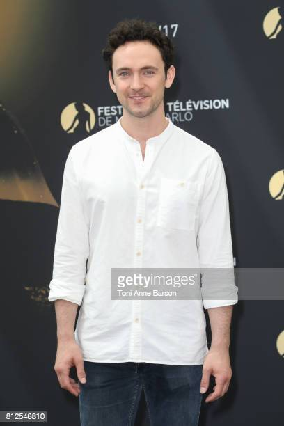 George Blagden attends photocall for 'Versailles' on June 17 2017 at the Grimaldi Forum in MonteCarlo Monaco