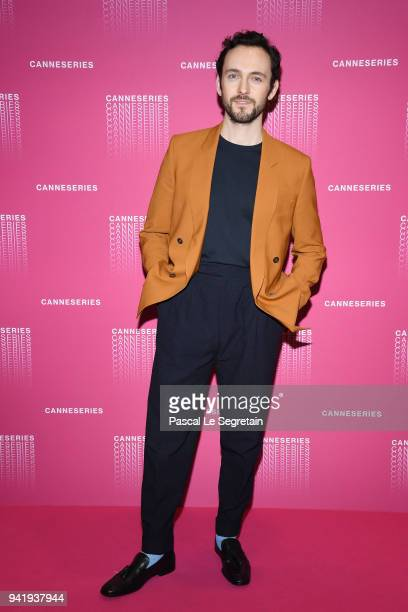George Blagden attends the Opening Ceremony and 'Versailles Season 3' screening during the 1st Cannes International Series Festival at Palais des...