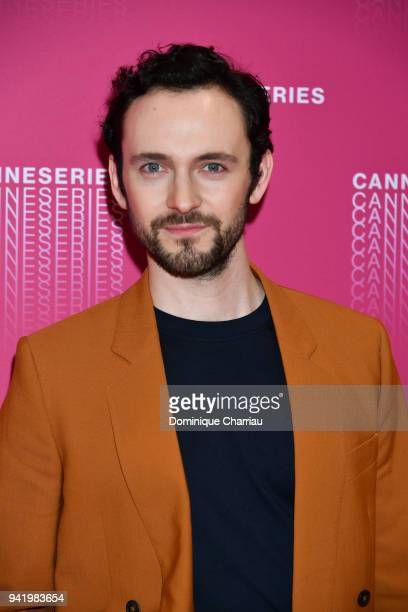 George Blagden from the 'Versailles' tv show premiere attends opening ceremony of the 1st Cannes Series Festival on April 4 2018 in Cannes France