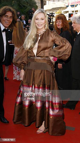 George Blodwell and Faye Dunaway during 2006 Cannes Film Festival 'Marie Antoinette' Premiere at Palais des Festival in Cannes France