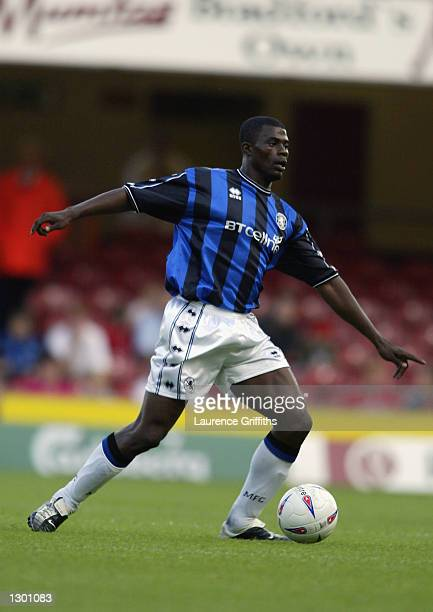 George Boateng of Middlesbrough in action during the Pre Season Friendly between Bradford City v Middlesbrough at The Bradford and Bingley Stadium in...