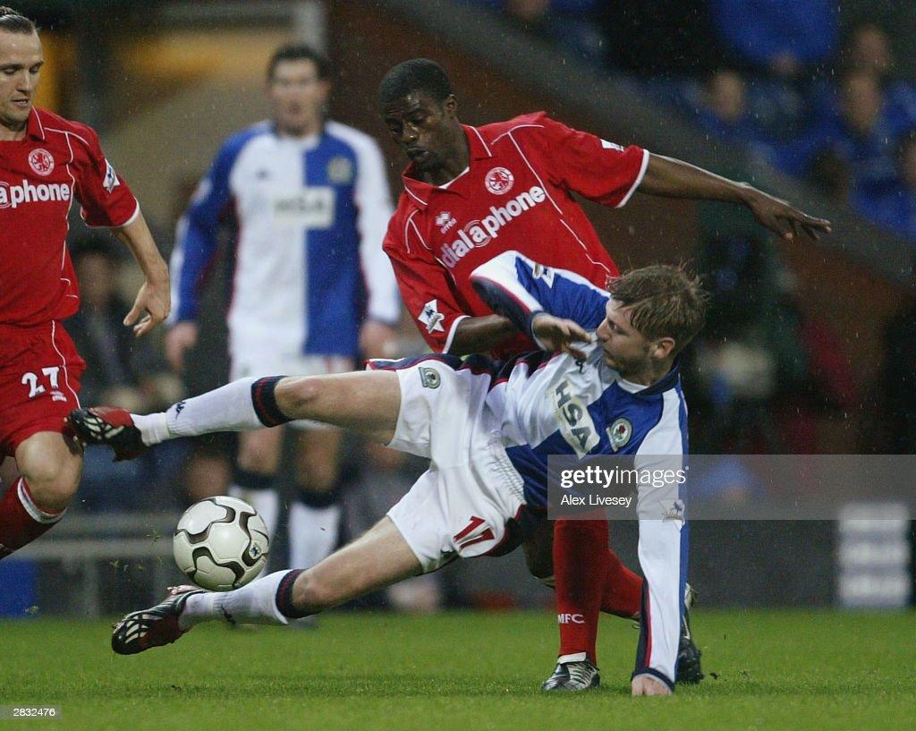 Blackburn Rovers v Middlesbrough