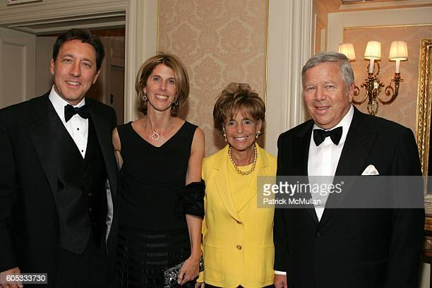 George Bodenheimer Ann Bodenheimer Myra Kraft and Robert Kraft attend Museum of the Moving Image Honors George Bodenheimer and Stephen Burke at Grand...