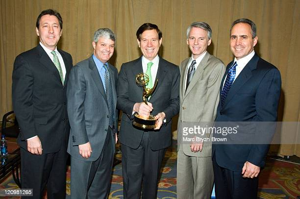 George Bodenheimer President of ESPN and ABC Sports David Levy President of Turner Sports Peter Price NATAS President Sean McManus President of CBS...