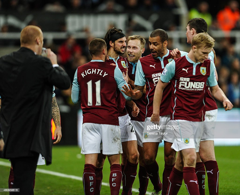 Newcastle United v Burnley - Barclays Premier League : News Photo