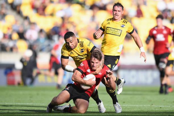 NZL: Super Rugby Aotearoa Rd 7 - Hurricanes v Crusaders
