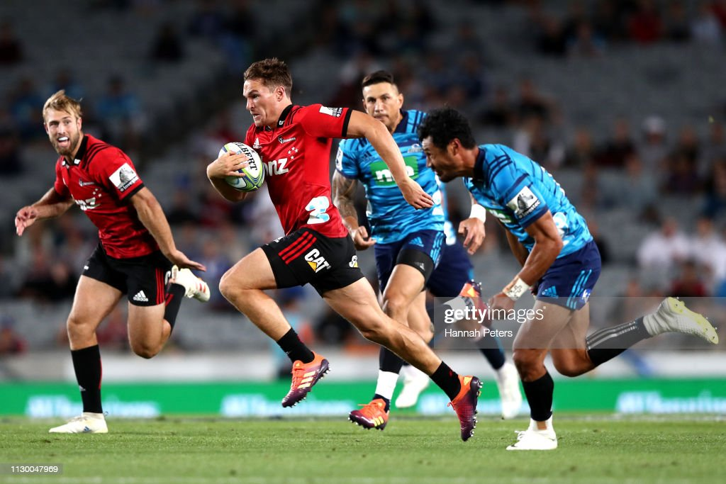 Super Rugby Rd 1 - Blues v Crusaders : News Photo
