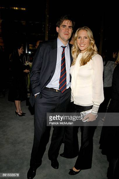 George Brokaw and Alison Brokaw attend JeanMarc Loubier President CEO of CELINE hosts cocktails to honor the Associates Committee Lenox Hill...