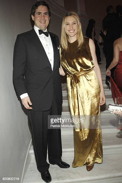 George Brokaw and Alison Brokaw attend MUSEUM of the CITY OF NEW YORK Director's Council and DIOR WINTER BALL at Museum of the City of New York on...