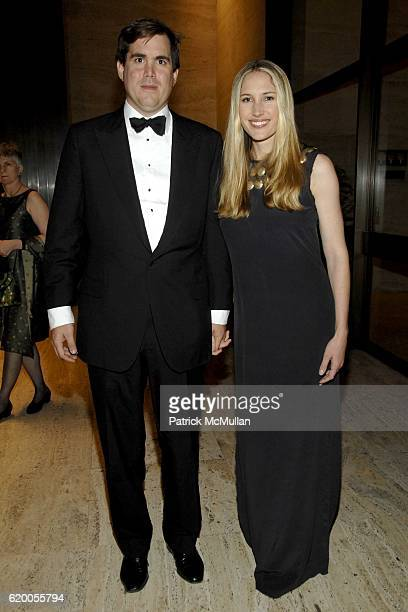 George Brokaw and Alison Brokaw attend the FrenchAmerican Foundation 2008 Gala at the Four Seasons Restaurant on November 18 2008 in New York City