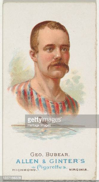 George Bubear Oarsman from World's Champions Series 1 for Allen Ginter Cigarettes 1887 Artist Allen Ginter