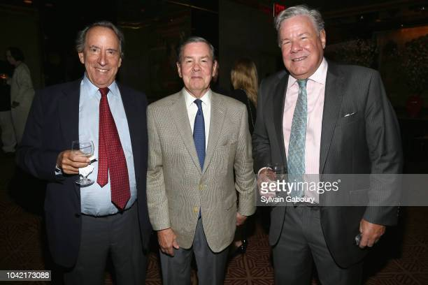George Bunn Pierce Macguire and Jamie MacGuire attend David Patrick Columbia And Chris Meigher Toast The QUEST 400 At DOUBLES on September 27 2018 in...