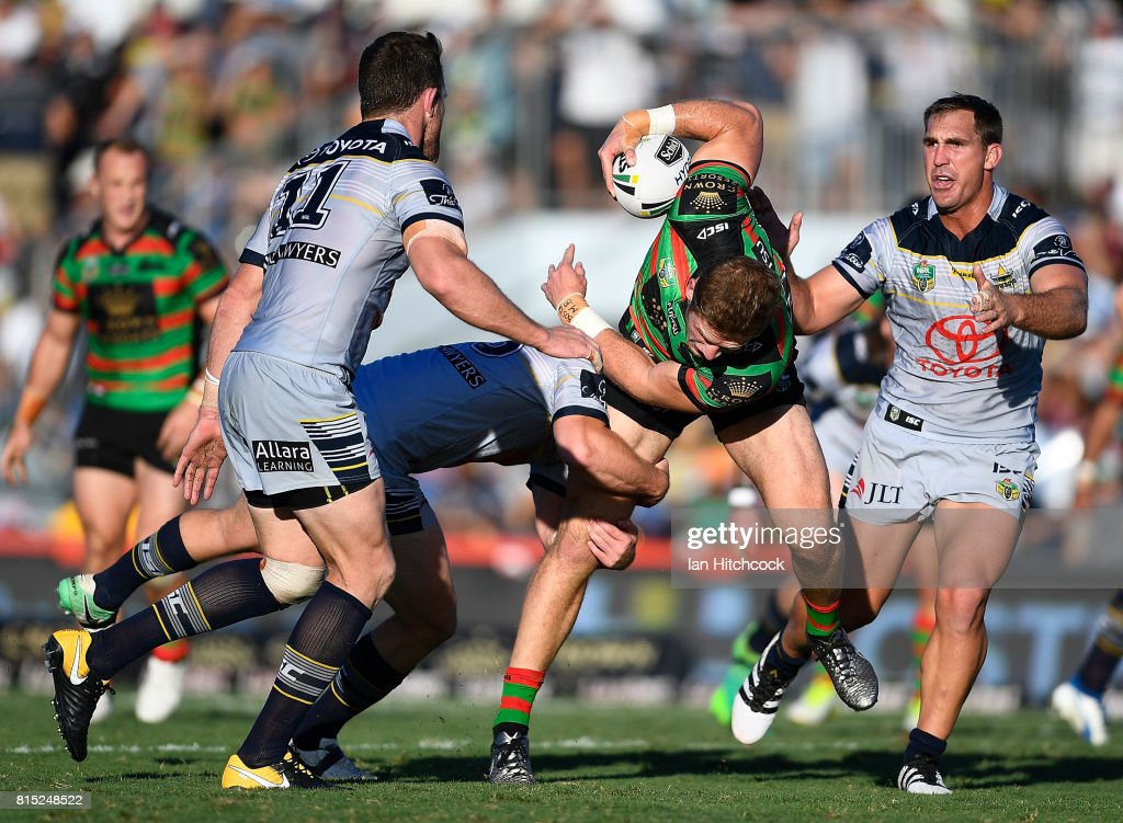 NRL Rd 19 - Rabbitohs v Cowboys : News Photo