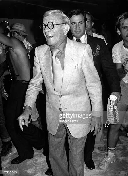 George Burns attends the 'Sgt Pepper's Lonely Hearts Club Band' Premiere AfterParty at Studio 54 circa 1978 in New York City
