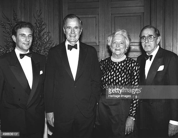 George Bush Senior at Jewish dinner 1993 George Bush and his wife Barbara at a JIA dinner Bush was president of the United States of America from...