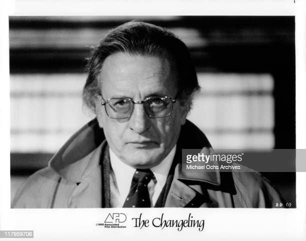 George C. Scott in a scene from the film 'The Changeling', 1980.