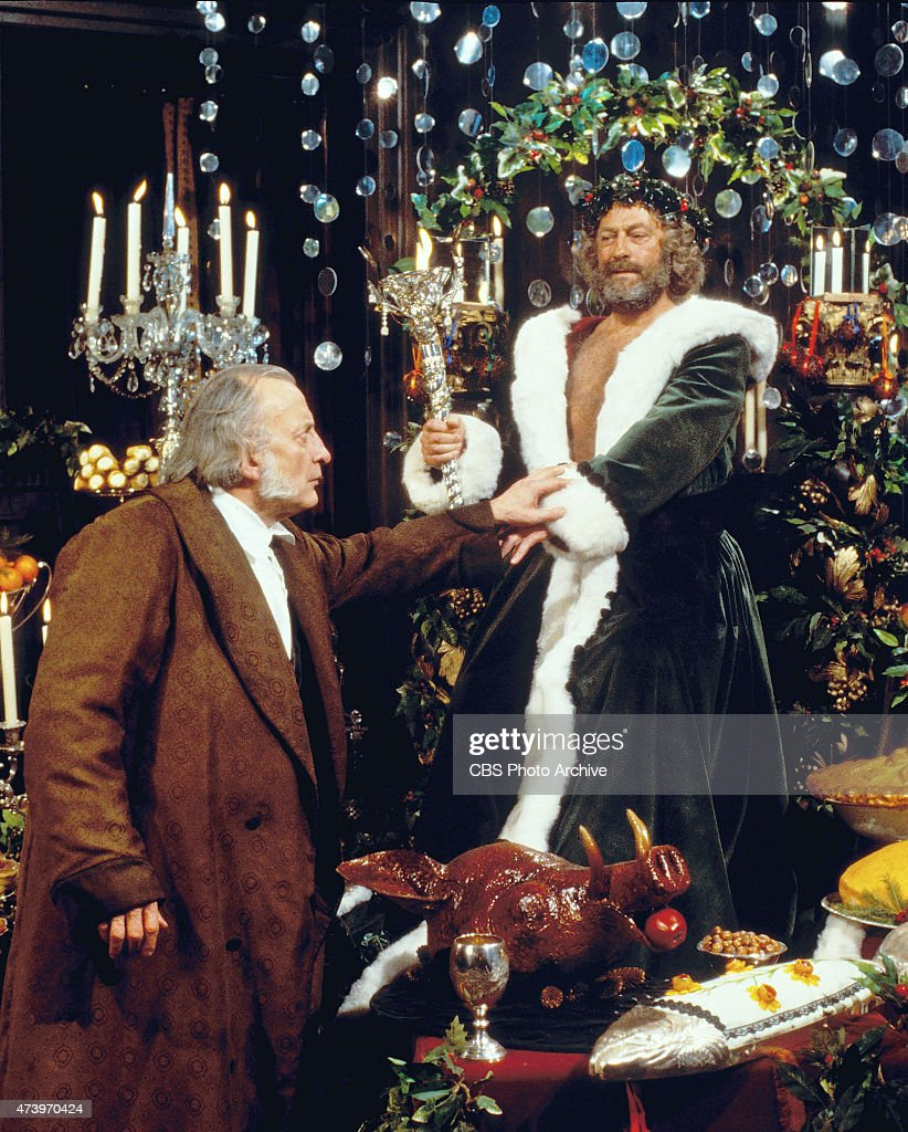 George C Scott A Christmas Carol.George C Scott Stars As The Penurious Stingy Businessman