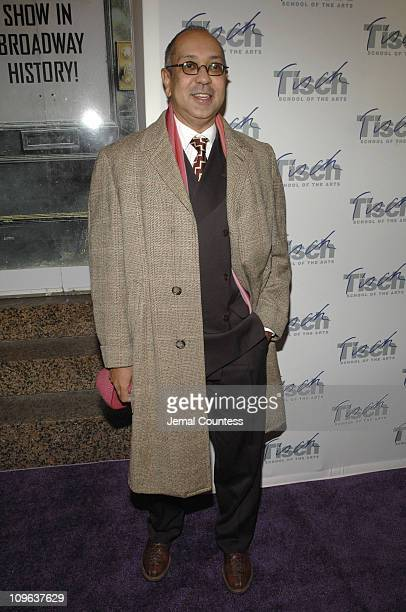 George C Wolfe during Billy Crystal Hosts Tisch On Broadway New York University's Tisch School of the Art's 2006 Gala Benefit Arrivals at St James...