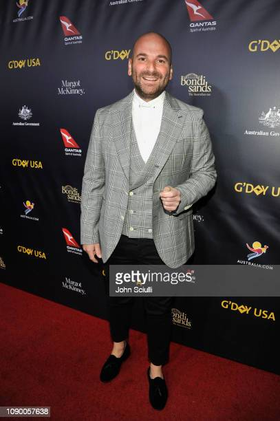 George Calombaris attends the 2019 G'Day USA Gala at 3LABS on January 26 2019 in Culver City California