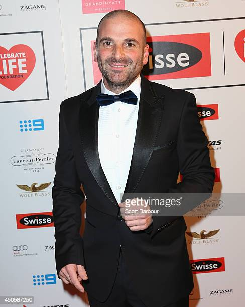 George Calombaris attends the Celebrate Life Ball at Grand Hyatt Melbourne on June 13 2014 in Melbourne Australia