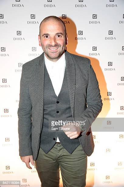 George Calombaris attends the DIIDA flagship store launch in SOuth Yarra on June 22 2016 in Melbourne Australia