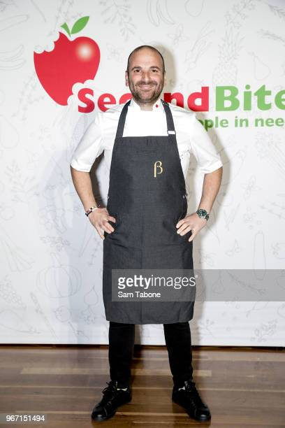 George Calombaris attends the SecondBite Waste Not Want Not Gala at Melbourne Cricket Ground on June 4 2018 in Melbourne Australia