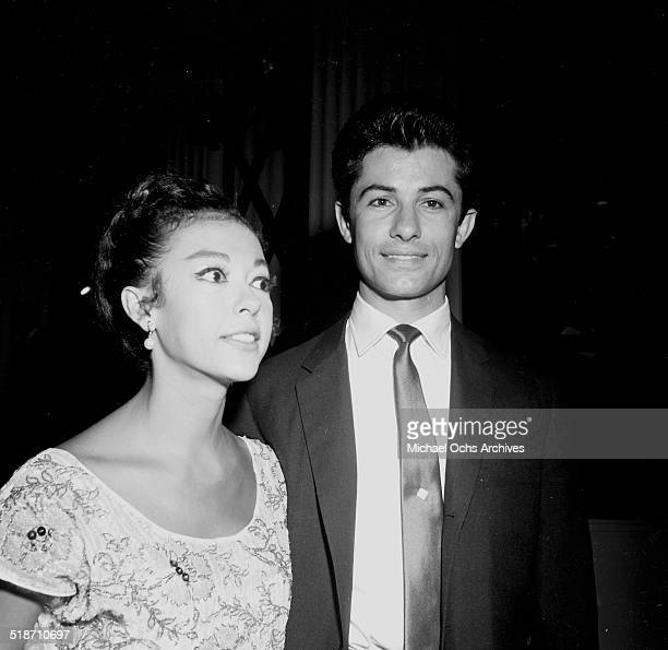 George Chakiris and Rita Moreno attend an event in Los AngelesCA