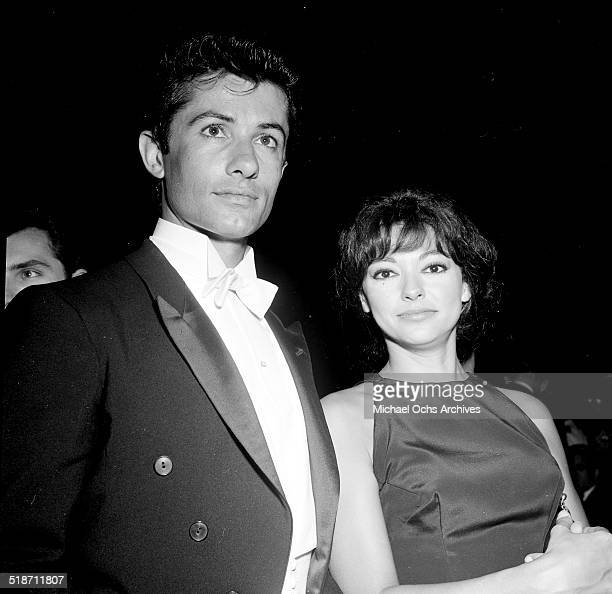 George Chakiris and Rita Moreno attend an event in Los Angeles,CA.