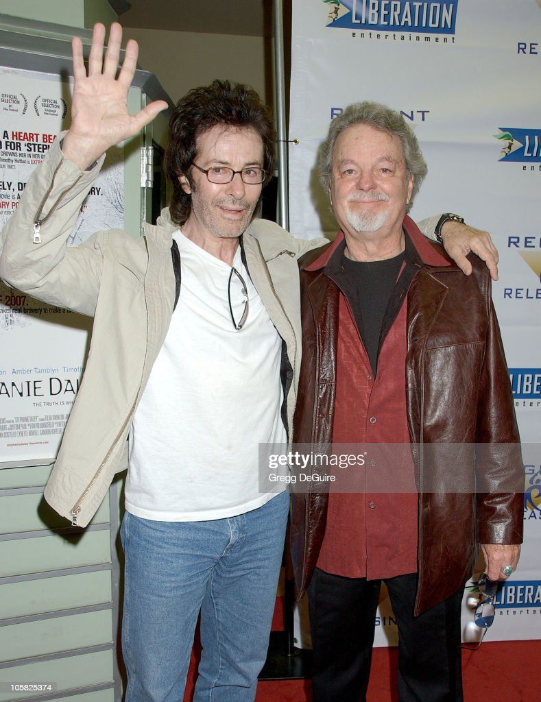 George Chakiris and Russ Tamblyn during 'Stephanie Daley' Los Angeles Screening - Arrivals at Regent Showcase Theatre in Hollywood, California, United States.