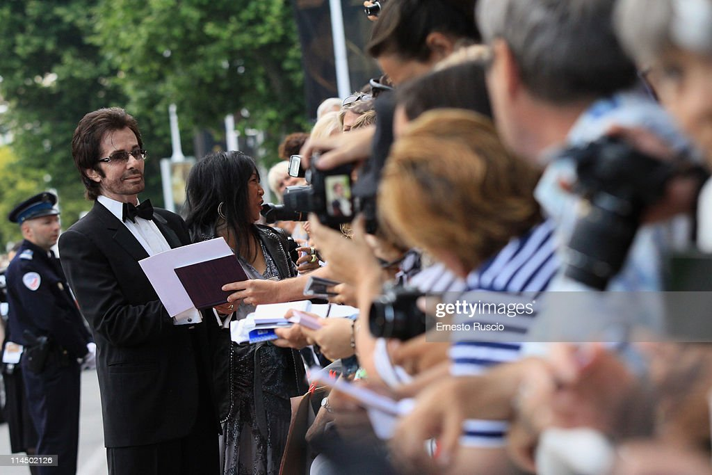 George Chakiris attends the 'Les Bien-Aimes' premiere at the Palais des Festivals during the 64th Cannes Film Festival on May 22, 2011 in Cannes, France.